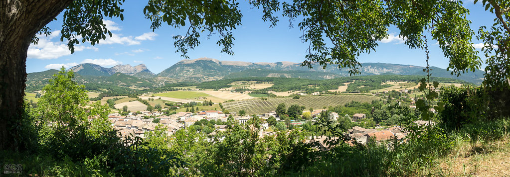 Panoramic view over Bourdeaux
